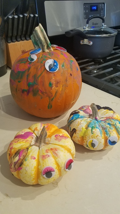 Finished Pumpkins